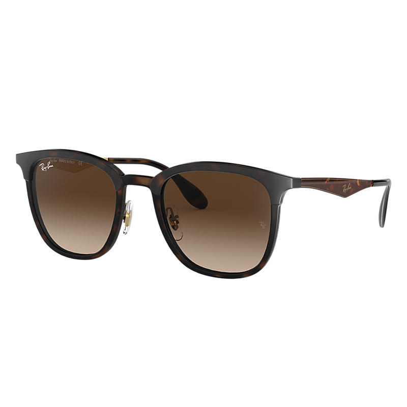Ray-Ban Blue Sunglasses, Brown Lenses - Rb4278 8053672730531