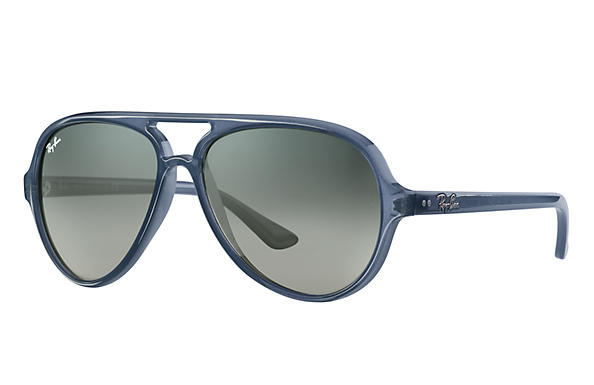 Ray-Ban 0RB4125-CATS 5000 CLASSIC Blue SUN