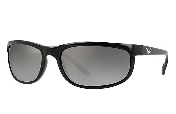 rb 2027  Ray-Ban Predator 2 Black, RB2027 Green Prescription Lenses