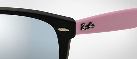 Ray Ban Wayfarer Black And Pink