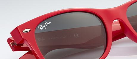 Custom Ray-Ban New Wayfarer frame and lens