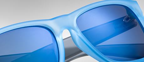 Custom Ray-Ban Justin bridge