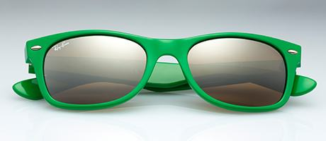 Custom Ray-Ban New Wayfarer front view