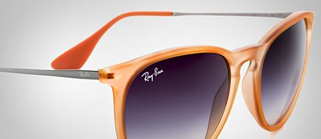 Custom Ray-Ban Erika front and temple