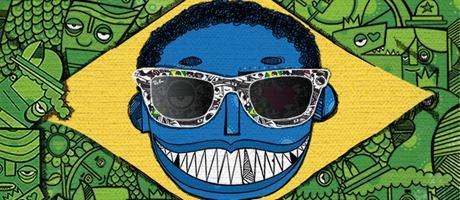 Ray-Ban Remix Wayfarer LTD Brasil