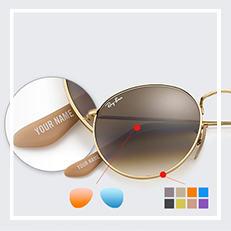 Round Personalizieren Sonnenbrillen