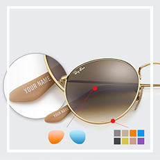 ray ban round sunglasses name  ray ban erika custom sunglasses