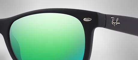 Custom Ray-Ban Wayfarer Junior frame and lens
