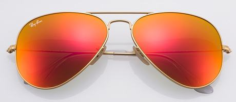 Ray Ban Red Aviators