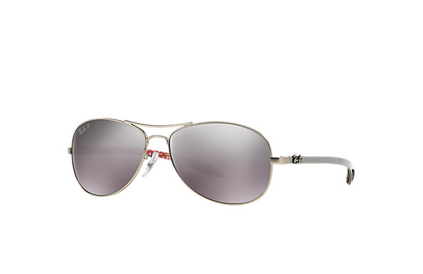 Ray-Ban 0RB8301 - RB8301 Silver SUN