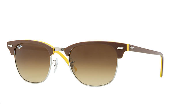Ray-Ban 0RB3016 - CLUBMASTER COLOR MIX Brown SUN
