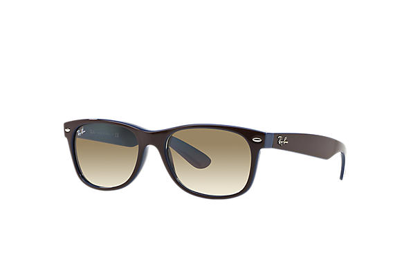 Ray-Ban 0RB2132 - NEW WAYFARER COLOR MIX Brown SUN