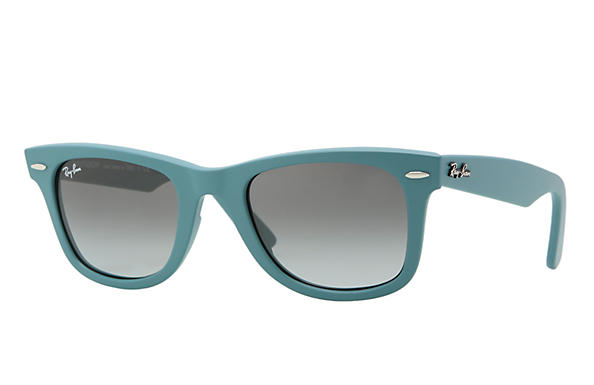 Ray-Ban 0RB2140 - ORIGINAL WAYFARER MATTE Light Blue SUN