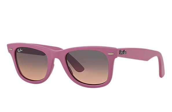 Ray-Ban 0RB2140 - ORIGINAL WAYFARER MATTE Pink SUN