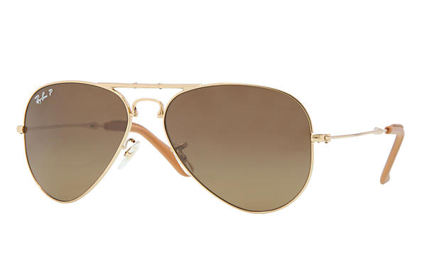 Ray-Ban 0RB3479KQ - AVIATOR FOLDING ULTRA Gold SUN