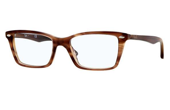 Ray-Ban 0RX5241 - RB5241 Brown OPTICAL