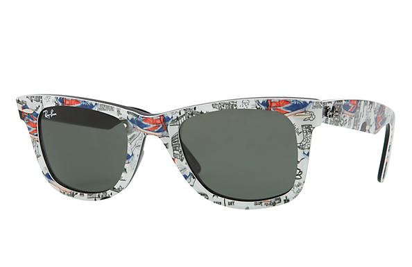 Ray-Ban 0RB2140 - ORIGINAL WAYFARER RARE PRINTS Multi SUN