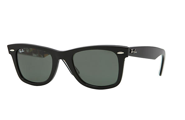 Ray-Ban 0RB2140 - ORIGINAL WAYFARER RARE PRINTS Nero SUN