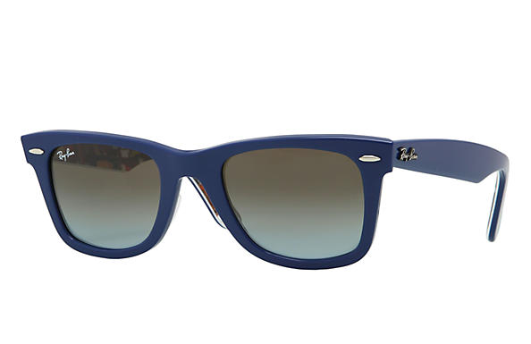 Ray-Ban 0RB2140 - ORIGINAL WAYFARER RARE PRINTS Blue SUN
