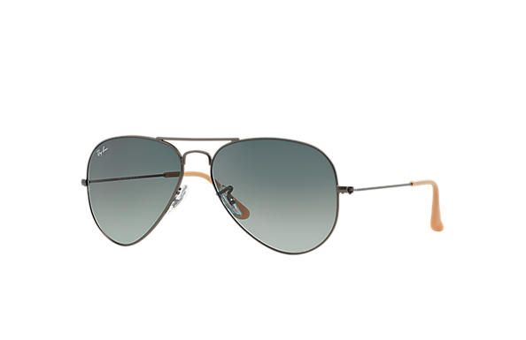 Ray-Ban 0RB3025 - AVIATOR GRADIENT Gunmetal SUN