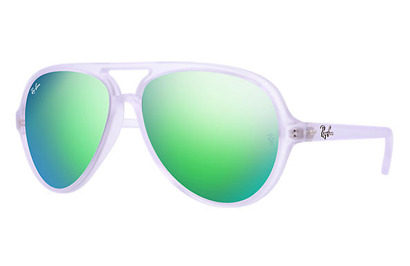 Ray-Ban 0RB4125 - CATS 5000 FLASH LENSES TRANSPARENT SUN