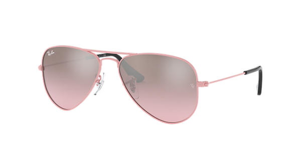While metal-frame sunglasses, including aviators and rimless styles, display a classically stylish look, Ray-Ban sunglasses with plastic and nylon frames project an air of modern sophistication that's easy to coordinate with your outfit of choice.