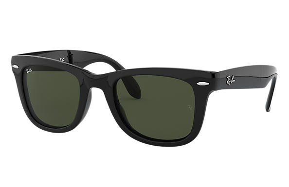Ray-Ban 0RB4105 - WAYFARER FOLDING CLASSIC Black SUN