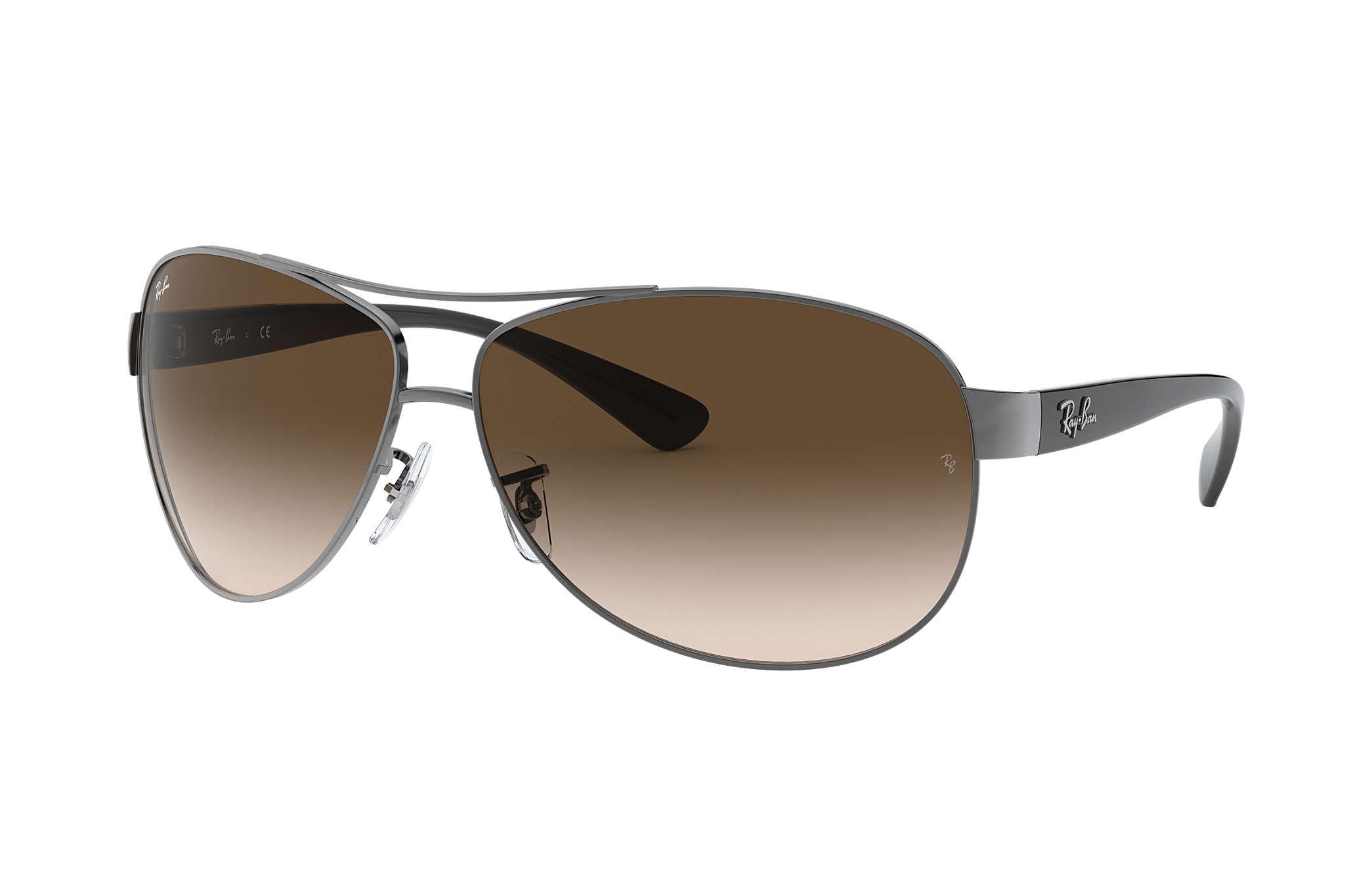 767ae42289e Ray Ban 3386 67 Mm. New RAY BAN Sunglasses Gunmetal ...