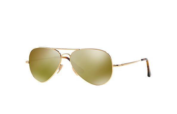 Ray-Ban 0RB8029K - AVIATOR ULTRA Or SUN