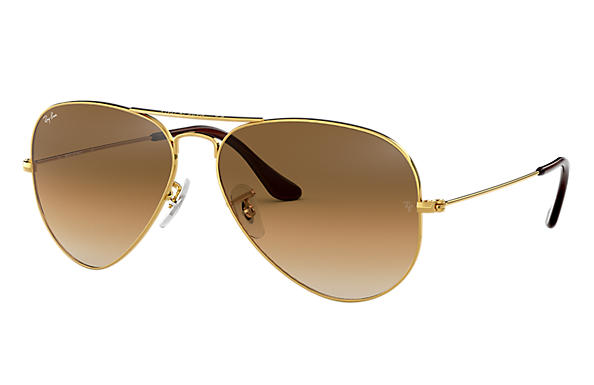 Ray-Ban 0RB3025 - AVIATOR GRADIENT Gold SUN