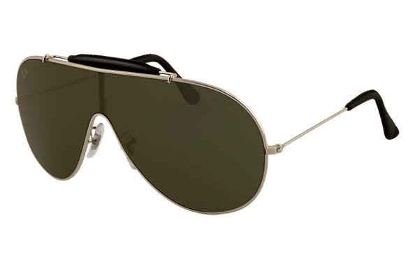Ray-Ban 0RB3416Q - WINGS CRAFT Silver SUN