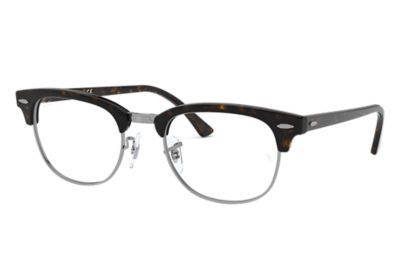 Ray Ban Clubmaster Glasses Frames : Clubmaster Optics prescription glasses Tortoise Acetate ...