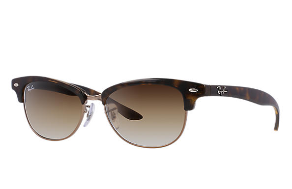 Ray-Ban 0RB4132 - CLUBMASTER CATHY Havane SUN