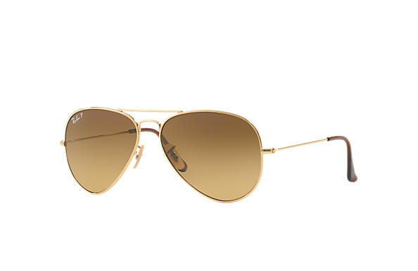 Ray-Ban 0RB8041 - AVIATOR TITANIUM Gold SUN