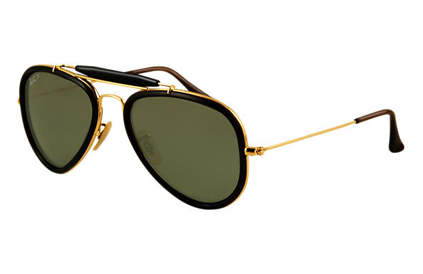 Ray-Ban 0RB3428 - AVIATOR ROAD SPIRIT Braun SUN