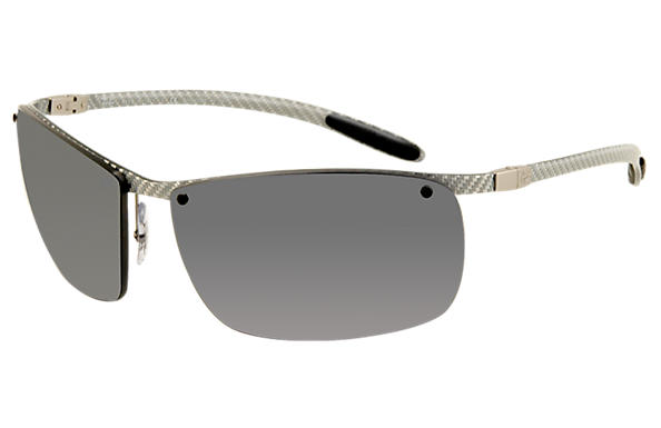 Ray-Ban 0RB8306 - RB8306 Silver SUN