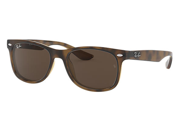 Ray-Ban 0RJ9052S - NEW WAYFARER JUNIOR Tortoise SUN