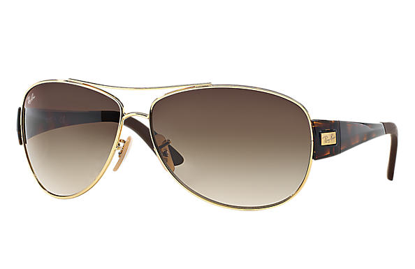 Ray-Ban 0RB3467 - RB3467 Gold SUN