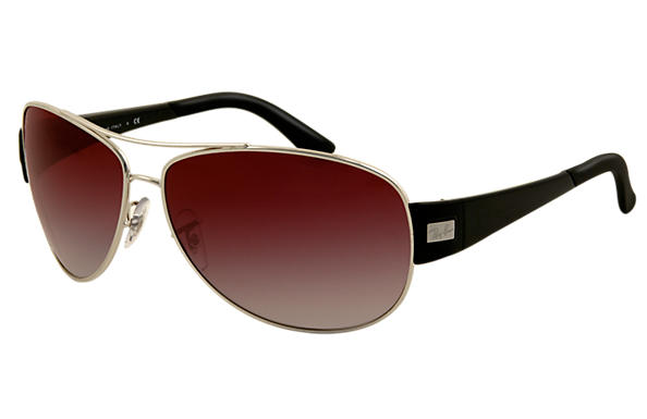 Ray-Ban 0RB3467 - RB3467 Silver SUN