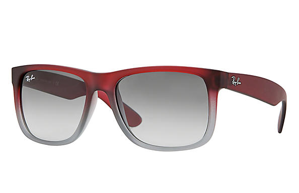 Ray-Ban 0RB4165 - JUSTIN COLOR MIX Red SUN