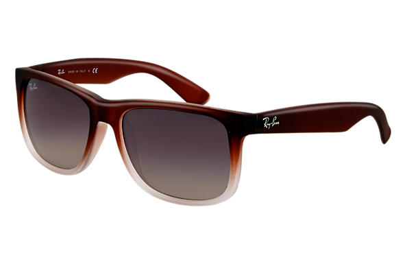 Ray-Ban 0RB4165 - JUSTIN COLOR MIX Brown SUN