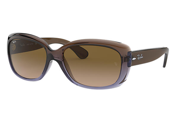 ray ban jackie ohh rb4101 brown nylon brown lenses. Black Bedroom Furniture Sets. Home Design Ideas