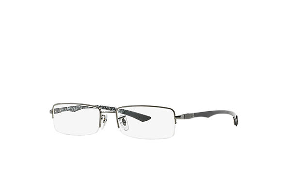 Ray-Ban 0RX8407 - RB8407 Schwarz OPTICAL