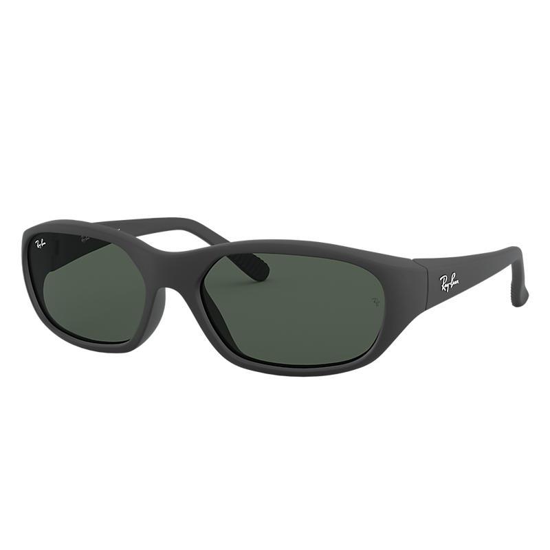 Ray Ban Daddy-o ii Homme Sunglasses Verres: Vert, Monture: Noir - RB2016 W2578 59-17