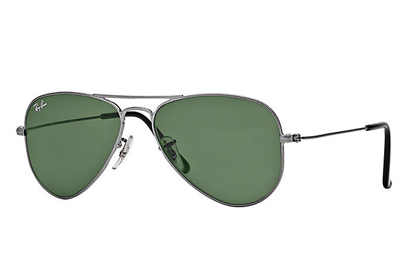 Ray-Ban 0RB3044 - AVIATOR SMALL Gunmetal SUN