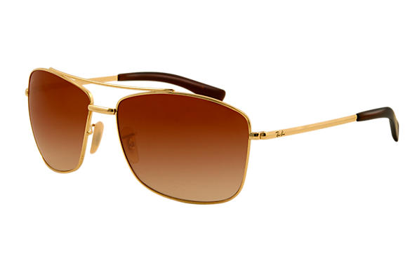Ray-Ban 0RB3476 - RB3476 Gold SUN