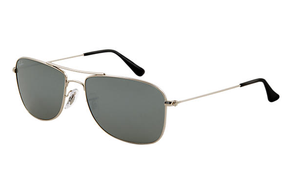 Ray-Ban 0RB3477 - RB3477 Silver SUN