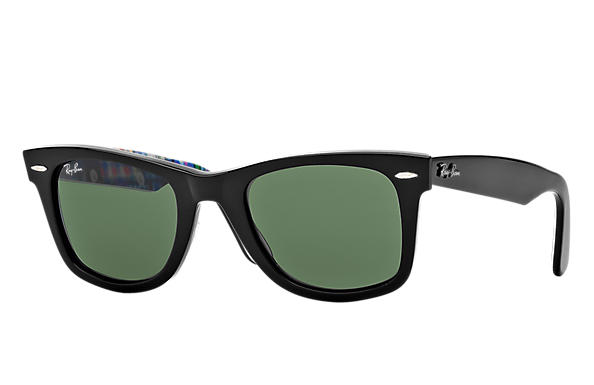 Ray-Ban 0RB2140 - ORIGINAL WAYFARER RARE PRINTS Black SUN