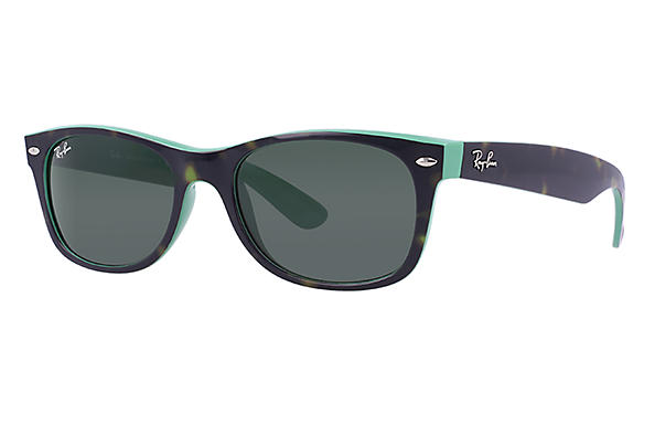 Ray-Ban 0RB2132 - NEW WAYFARER COLOR MIX Tortoise SUN