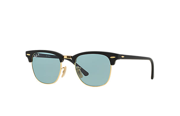 Ray-Ban 0RB3016 - CLUBMASTER CLASSIC Noir SUN